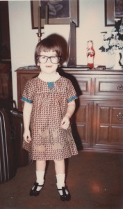 Me, geeked-out preschooler before geek was cool. circa 1969