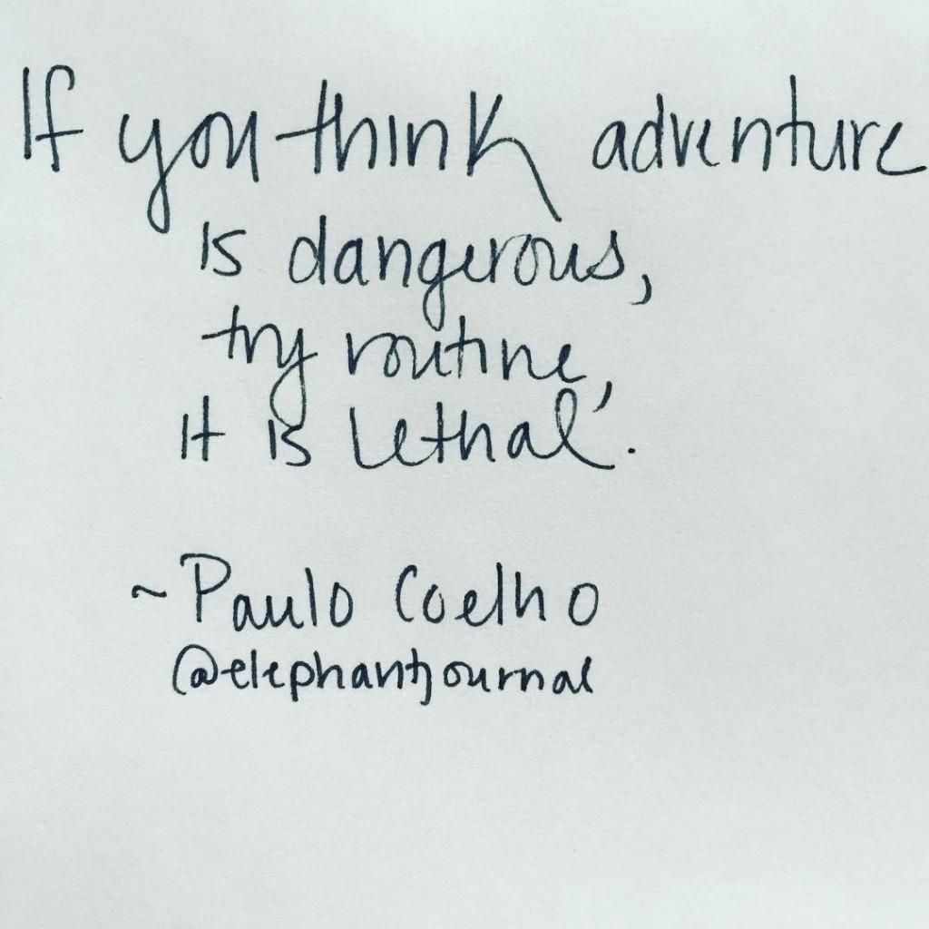 Paulo Coehlho quote